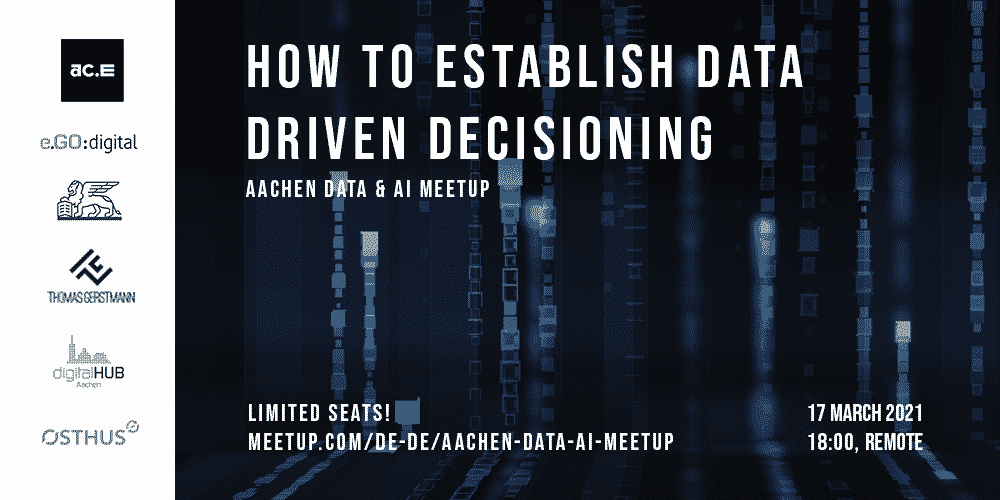 Data Driven Decision Making - Aachen Data & AI Meetup