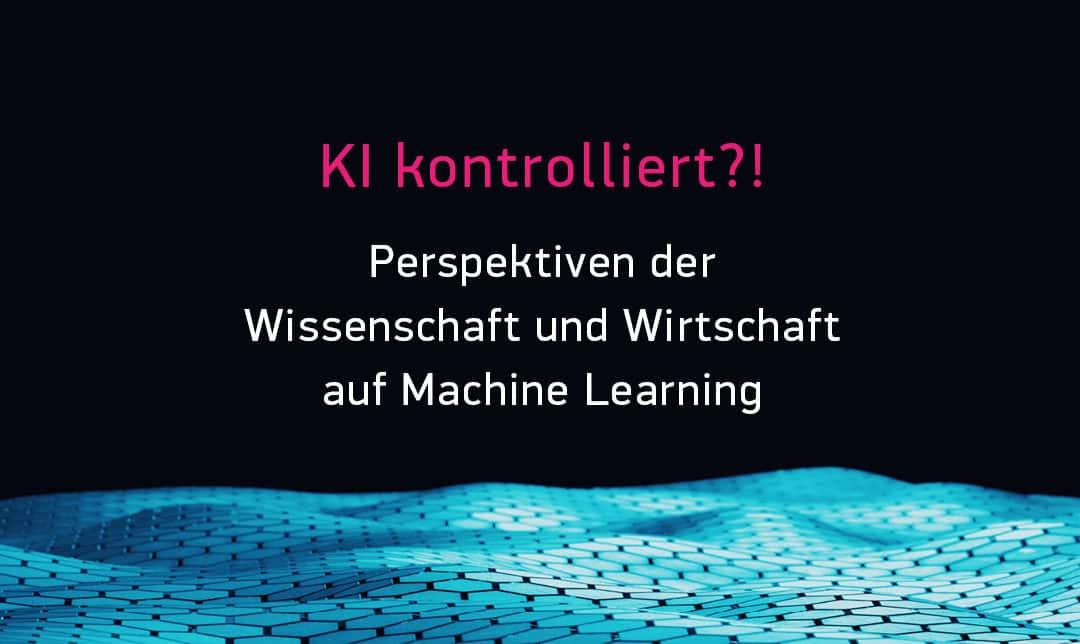 """Ich moderiere die KI-Konferenz """"KI Kontrolliert"""" von digitalHUB und RWTH Aachen"""
